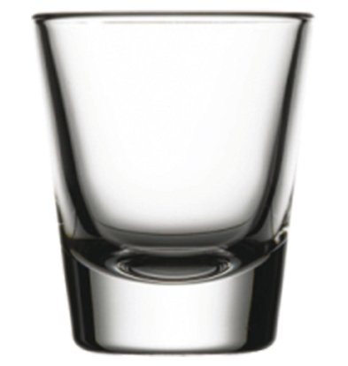 XXLselect Wodka Shots Glass Boston | 40ml | Ø50x60 (h) mm | Pro 24 Stück