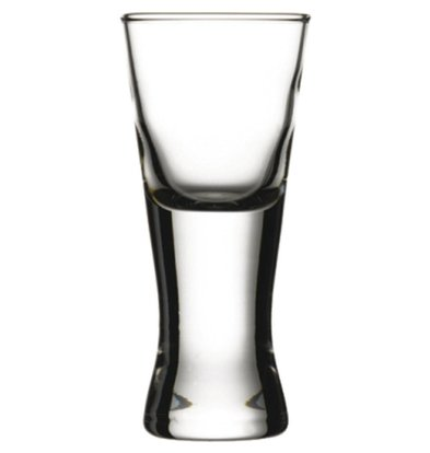 XXLselect Wodka Shots Glass Boston | 50ml | Ø49x108 (h) mm | Pro 24 Stück