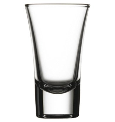 XXLselect Wodka Shots Glass Boston | 60ml | Ø52x88 (h) mm | Pro 24 Stück