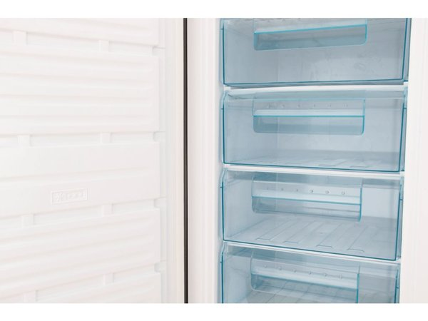 Frilec Freezer INOX | 212 Liter | 7 Laden | 600x600x1700 (h) mm