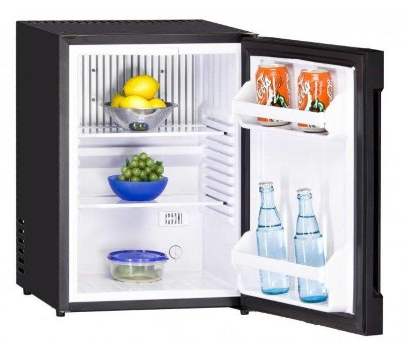 Exquisit Kühlschrank Schwarz | 36 Liter | 440x400x560 (h) mm