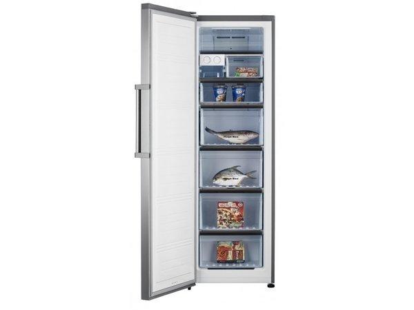 Frilec Freezer INOX | 260 Liter | 7 Laden | 600x660x1860 (h) mm