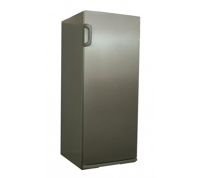 Exquisit Catering Edelstahl Kühlschrank | 267 Liter | Incl. 5 Metall Hähne | 620x600x1450 (h) mm