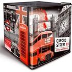 """Husky Mini-Kühlschrank """"Oxford Street""""   43 Liter   430x460x510 (h) mm"""