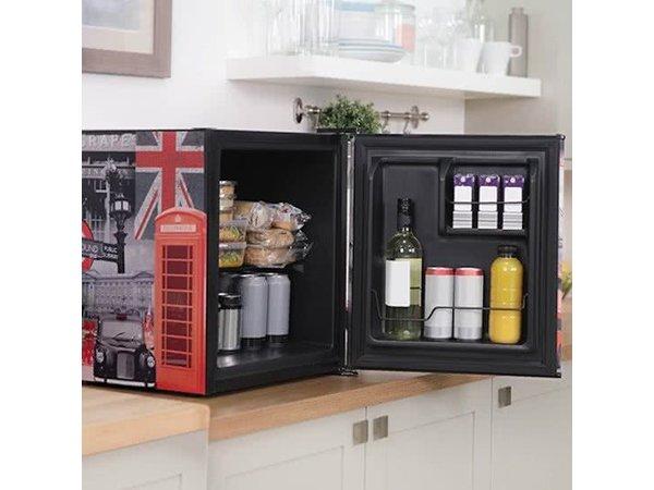 Mini Kühlschrank Design : Nebeneinander kühlschrank und gefrierschrank eingebauter entwurf