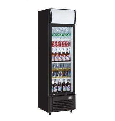 Exquisit Flaschen Kühlschrank Eco-Line | 300 Liter | 620x595x1860 (h) mm