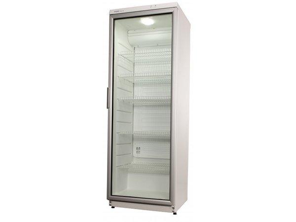 Kühlschrank Exquisit : Exquisit glastür kühlschrank weiß liter