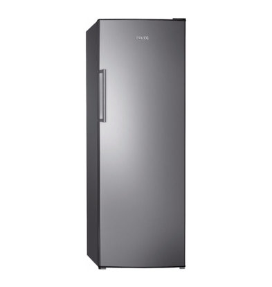 Frilec Fridge Stainless Look | 335 Liter | 6 plateaus | 600x600x1700 (h) mm