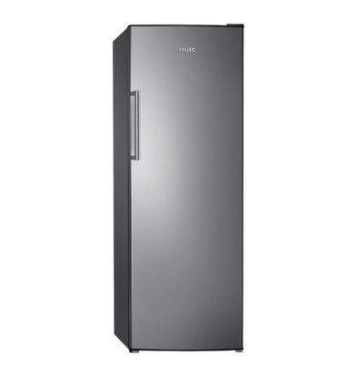 Frilec Kühlschrank Edelstahl-Optik | 335 Liter | 6 Plateau | 600x600x1700 (h) mm