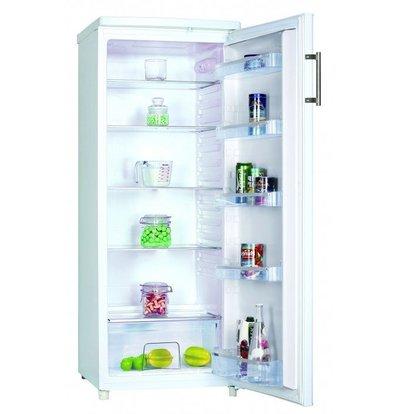Frilec Kühlschrank Weiß | 240 Liter | 5 Regale | 550x580x1430 (h) mm