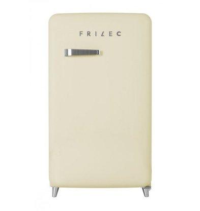Frilec Kühlschrank Creme | Kühl 108L / 13L Einfrieren | 540x620x980 (h) mm