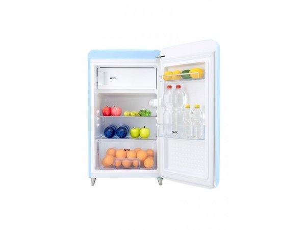Frilec Kühlschrank Blau | Kühl 108L / 13L Einfrieren | 540x620x980 (h) mm