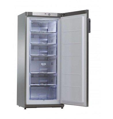 Exquisit Horeca Freezer Stainless Steel | 196 Liter | 600x620x1450 (h) mm