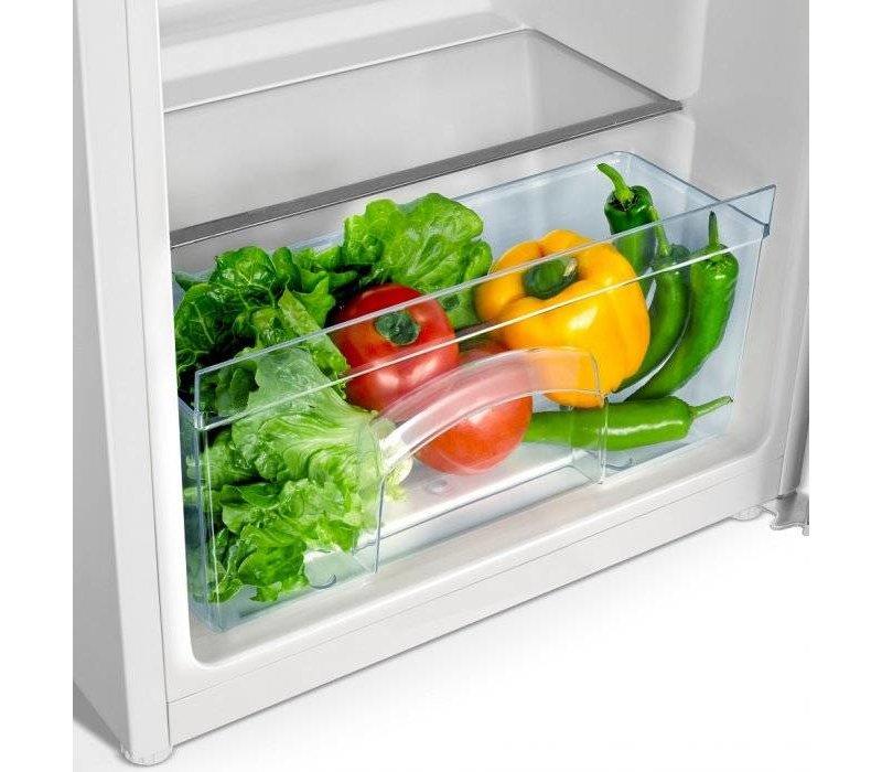 Frilec Kühlschrank Weiß | 130 Liter | 550x580x850 (h) mm