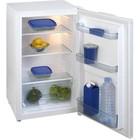 Exquisit Kühlschrank Weiß | 93 Liter | 2 Einlegeböden und 1 Schublade | 480x520x850 (h) mm