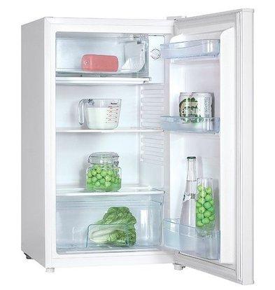 Exquisit Kombination Kühlschrank Weiß | Kühl 80L / 10L Einfrieren | 480x520x850 (h) mm