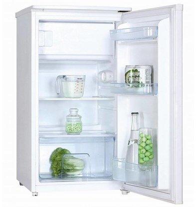 Exquisit Kombination Kühlschrank Weiß | Kühl 69L / 11L Einfrieren | 480x520x850 (h) mm