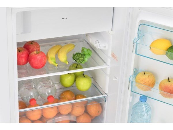 Exquisit Kombination Kühlschrank Weiß | Kühl 103L / 15L Einfrieren | 580x550x850 (h) mm