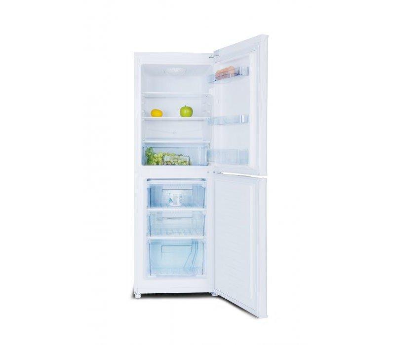 Exquisit Kombination Kühlschrank Weiß | Kühl 100L / 56L Einfrieren | 490x560x1430 (h) mm