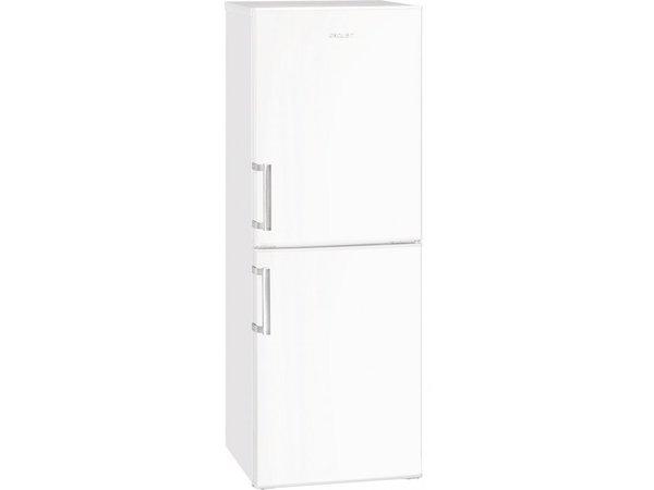 Exquisit Kombination Kühlschrank Weiß | Kühl 98L / 51L Einfrieren | 520x590x1470 (h) mm