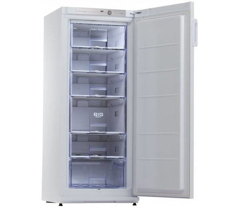Exquisit Gefrierschrank Weiß | 196 Liter | 6 Loading | 600x620x1450 (h) mm
