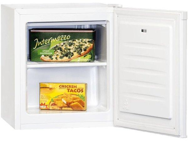 Exquisit Gefrierschrank Top-Box Weiß | 30 Liter | 440x470x510 (h) mm