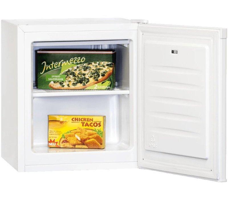 Exquisit Gefrierschrank Top-Box Weiß   30 Liter   440x470x510 (h) mm