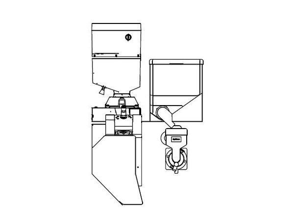 Animo OptiBean 2 NG | Kaffeebohnen | 1 Kanister | Erhältlich in drei Farben