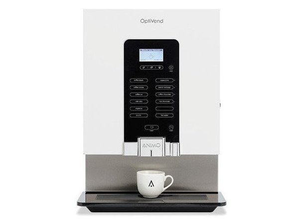 Animo OptiVend 53 NG | Instant-Kaffee | 3 + 2 Kanistern | Erhältlich in drei Farben