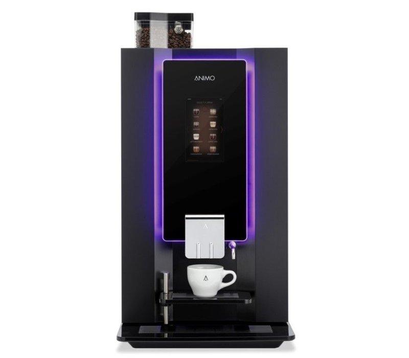 Animo OptiBean 3 Berühren | Kaffeebohnen | 2 Kanistern | Erhältlich in drei Farben