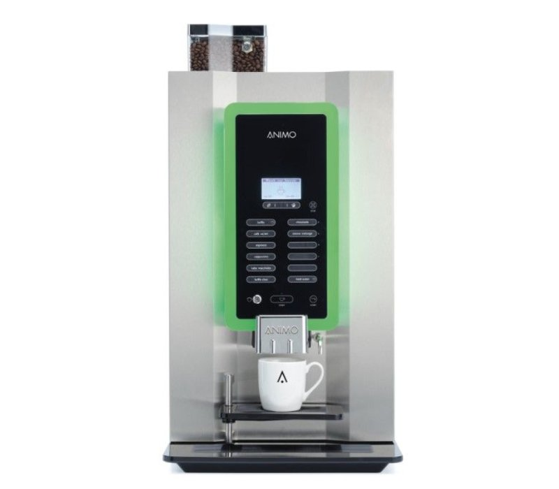 Animo OptiBean 3 NG | Kaffeebohnen | 2 Kanistern | Erhältlich in drei Farben