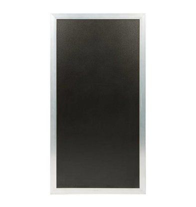 Securit Universal Multi-chalkboard stainless steel colored For Sidewalk or Wallboard | 550x1150 (h) mm