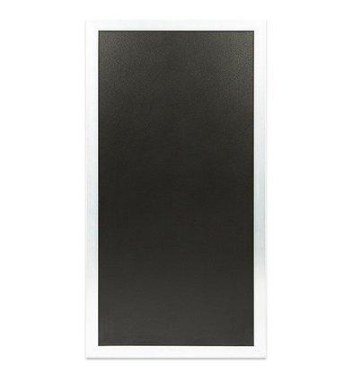 Securit Universal-Multi-Tafel Weiß | Für Stoep- oder Wandplatte | 550x1150 (h) mm