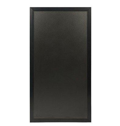 Securit Universal-Multi-Tafel schwarz | Für Stoep- oder Wandplatte | 550x1150 (h) mm