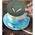 Securit Kaffee template 'Smiley' und 'Heart' | Pro 2 Stücke