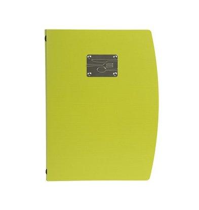 Securit Menü Rio A4 | Grün mit Besteck | 4 x DIN A4-Seiten nur