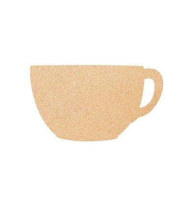 Securit Cork Silhouette CUP | einschließlich Kreidemarker, Band und Reißzwecken. | 300x450mm