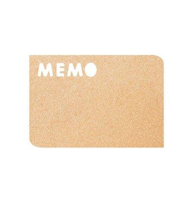 Securit Cork Silhouette MEMO | einschließlich Kreidemarker, Band und Reißzwecken. | 300x450mm