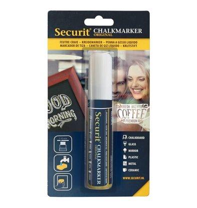 Securit Dikke Krijtstiften | Wit | 7-15mm
