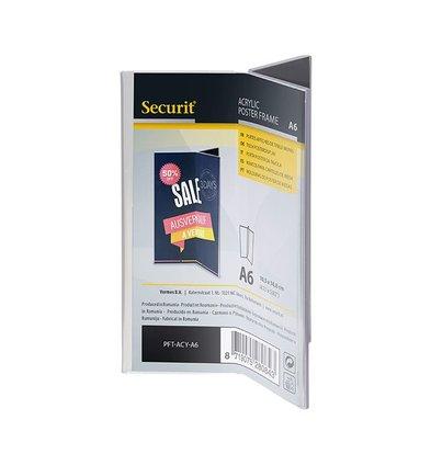 Securit Y-shaped Menu Holder | Format A6