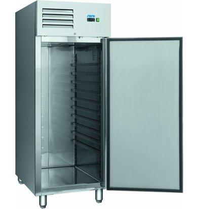 Saro Bäckerei Kühlschrank | 852L | 2x 600x400mm Platten | 740x990x2010 (h) mm