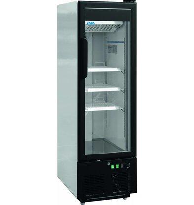 Saro Glastür Kühlschrank | 3 Hähne | 215L | 484x700x1578 (h) mm