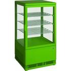 Saro Koelvitrine 70L Groen   3 Roosters   430x380x880(h)mm