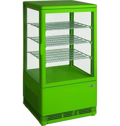 Saro Kühlvitrine 70L Green | 3 Hähne | 430x380x880 (h) mm
