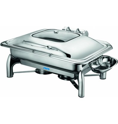 Saro Chafing Dish Inductie | GN1/1 - 9 Liter