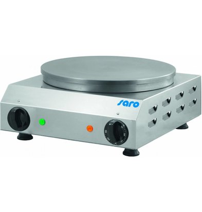 Saro Crepes tray plate Ø350mm | 230V / 2.4 kW | 370x430x170 (h) mm