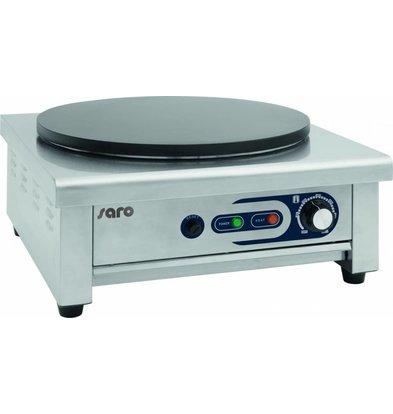 Saro Crepesbakplaat Enkel | Ø400mm | 3kW
