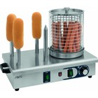 Saro Hotdog Warmer met Broodwarmers | 4,5kW | Ø190x240(h)mm