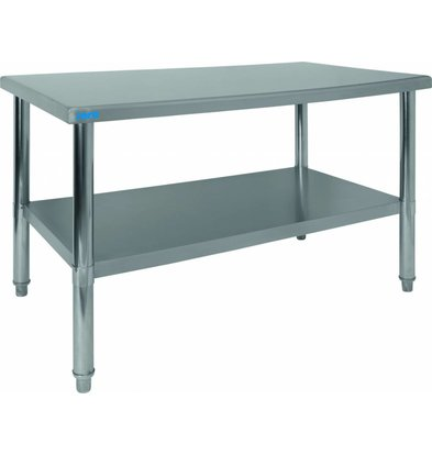 Saro Workbench Stainless Steel | Incl. Subscription | 1200x700x860 (h) mm