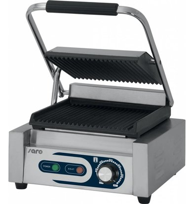 Saro Contact grill 1.8kW | With leekbakje | 320x410x190 (h) mm